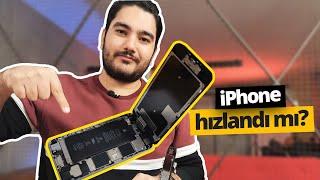 iPhone 6s bataryasını değiştirdik! Eski batarya vs Yeni batarya!