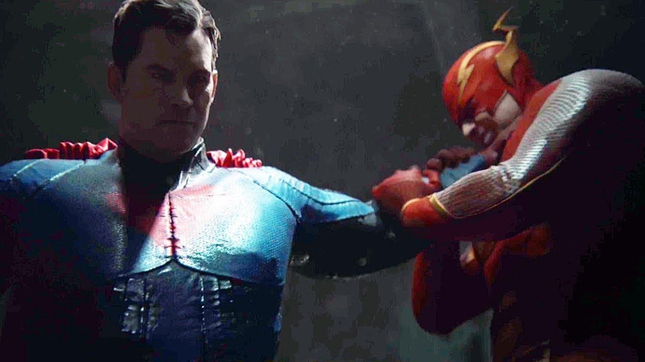 Download Superman Vs Flash & Green Lantern Fight Scene  - Injustice 2