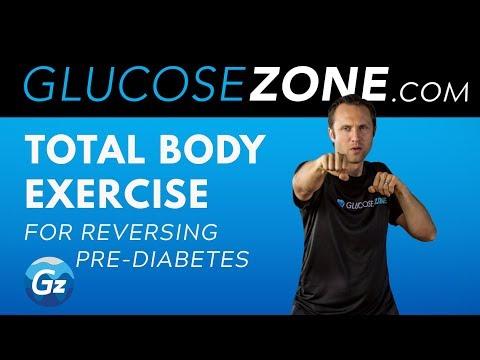 Total Body Exercise for Reversing Pre-Diabetes