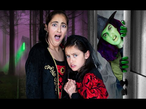 Escape the Witch Babysitter!! Escape Room Challenge