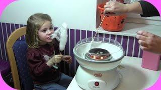 Zuckerwatte selber machen in der Zuckerwattemaschine | Cotton Candy