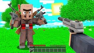FAKİR KÖYDE SİLAH KONTROLÜ YAPTI! 😱 - Minecraft