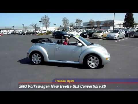 2003 volkswagen new beetle glx convertible 2d freeman toyota youtube. Black Bedroom Furniture Sets. Home Design Ideas