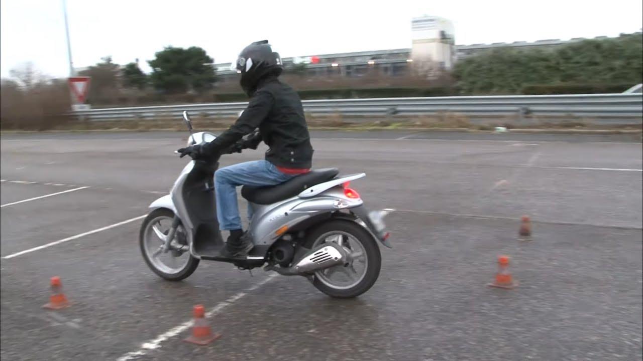 Offrir un scooter en toute sécurité