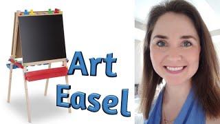My Favorite Things: Melissa and Doug Art Easel - Kid Reaction!