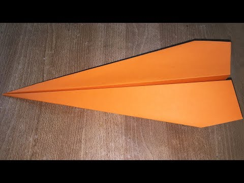 How to Make a Paper Airplane That Fly Far (Style 01)