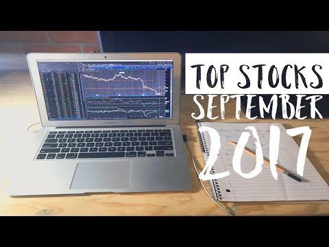 The Top Stocks For September 2017 Week 2 | Sunday Stock Talk