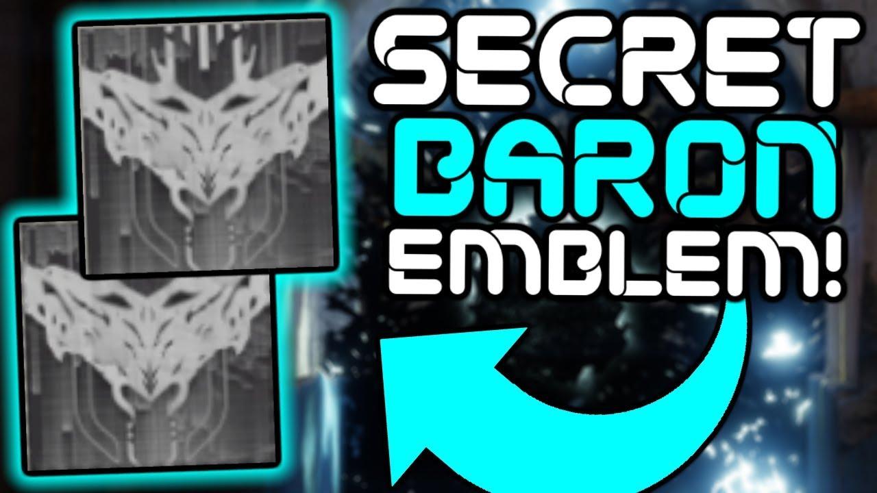 Destiny 2 - Secret Treasure Emblem Guide!! (Hidden Baron Emblem)
