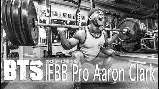 Gregory James BTS Bodybuilding Photoshoot | IFBB Pro Aaron Clark