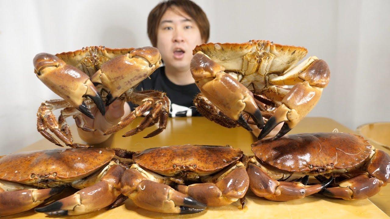 日本では絶対に獲れないカニ【トゥルトー】が美味すぎるwww