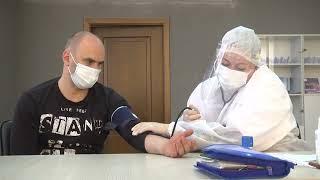 2021-08-26 г. Брест. Вакцинация на предприятиях: ХК «Брест». Новости на Буг-ТВ. #бугтв