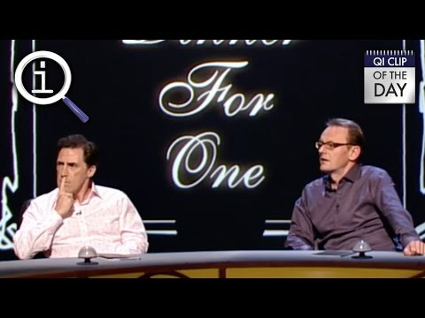 QI | What TV Show Can You Not Avoid? - YouTube