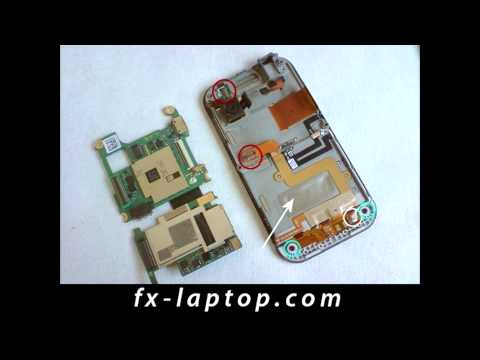 Disassembly LG Arena KM900 - Battery Glass Screen Replacement