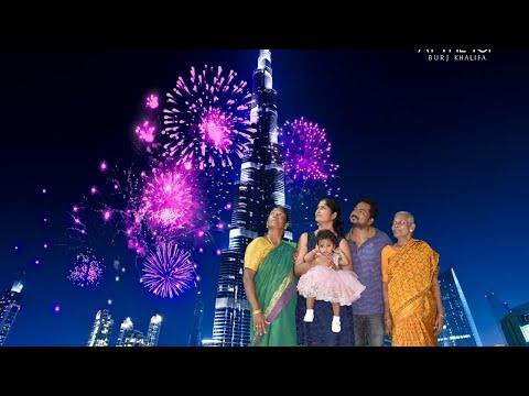 Yashika At The Top – Burj Khalifa with Grannies 31st July 2019