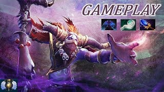 Dota 2 Danny's YOUNGER BRO PLAYS Witch Doctor   Ranked DIVINE 5
