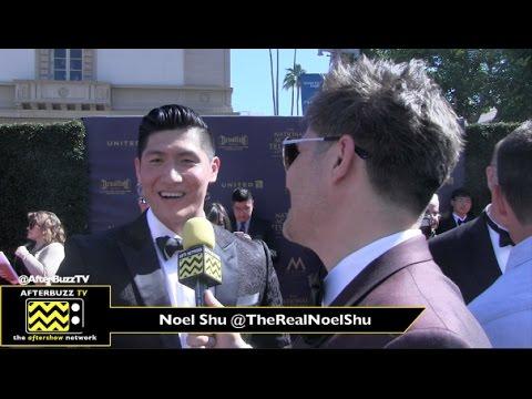 Majestic Ruby founder Noel Shu at the Daytime Emmy Awards 2017