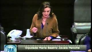 Dip. Beatriz Zavala (PAN) - Leyes de Telecomunicaciones (Reservas)