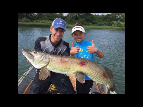 Big pike attack small pike we got both youtube for Elias v fishing