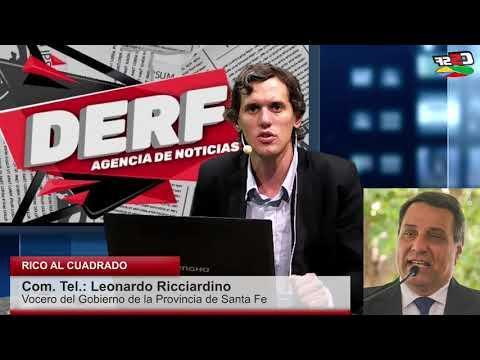 Ricciardino: No es más que revisar lo que se hizo por fuera de la Ley