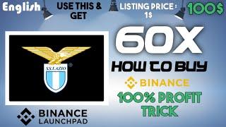 🔥Lazio Fan Token - 100x IDO on Binance LaunchPad   How to Buy Beta finance in Public-Sale💲