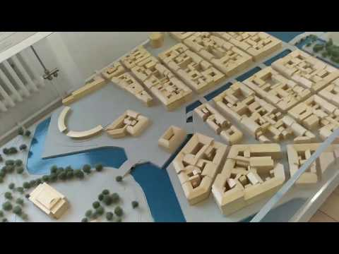 Urban planning - exhibition  in Moderna museet in Stockholm.