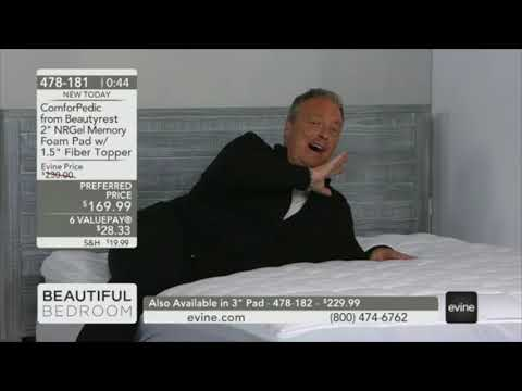 Repeat TV host Todd Newton presents Beautyrest Silver mattresses on