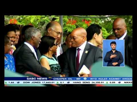 Filipe Nyusi has been sworn in as Mozambique's new president