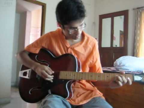Purano sei diner kotha-Acoustic guitar - YouTube