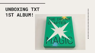 "Baixar Unboxing Tomorrow X Together (TXT) 1st Album 'The Dream Chapter: Magic"" (Sanctuary Version)"