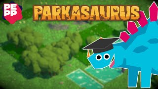 Parkasaurus Review | Relaxing park tycoon management (Video Game Video Review)