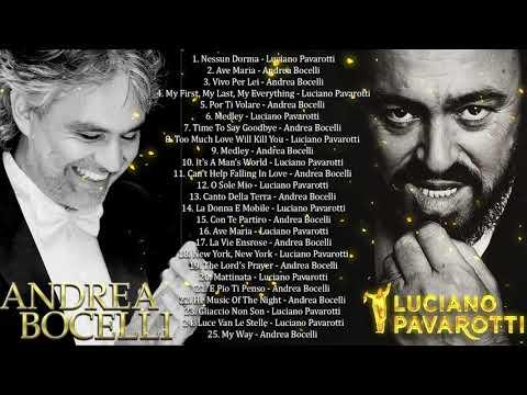 Andrea Bocelli,Luciano Pavarotti