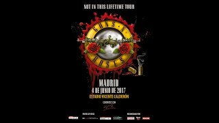 Guns and Roses. Madrid 4-6-17. It