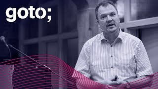 GOTO 2018 • Software Architecture in the Age of Things • Frank Buschmann