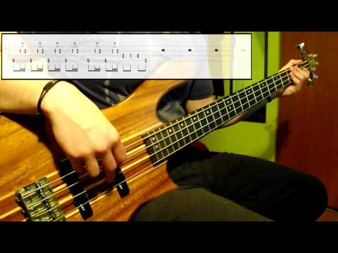 The Offspring - Hit That (Bass Cover) (Play Along Tabs In Video)