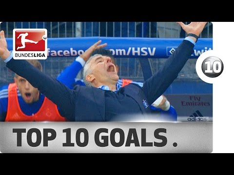 Top 10 Goals - Hamburger SV