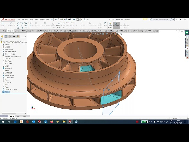 What's New SolidCAM 2020 - Simultaneous 5 Axis - Part 2
