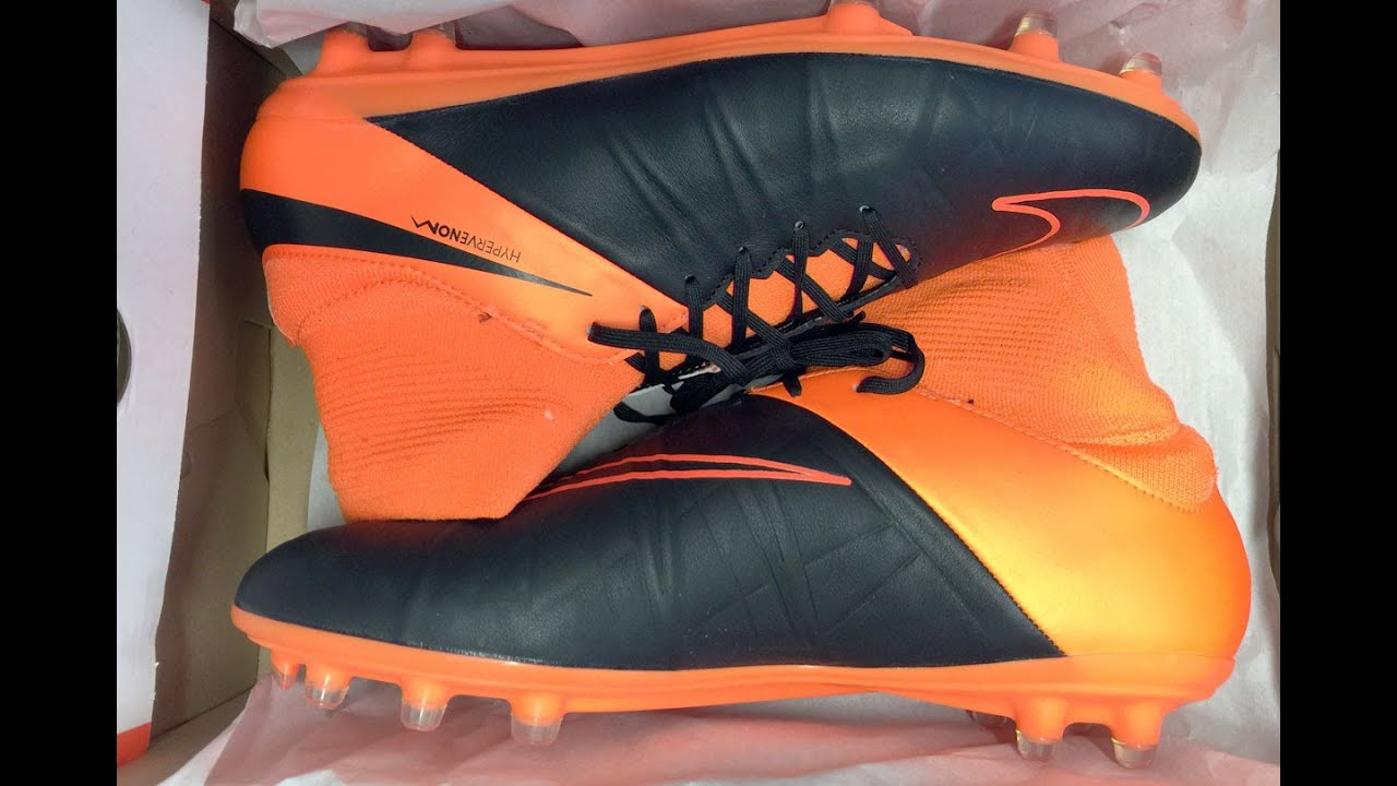 nike hypervenom phatal ii df ltr fg fussballschuhe youtube. Black Bedroom Furniture Sets. Home Design Ideas