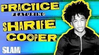 "Sharife Cooper Goes the DISTANCE Vs. His Pops: ""HE ALWAYS CHEATIN'"" | SLAM PRACTICE Video"