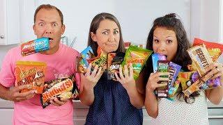 WEIRD Candy Taste Test! (With THE OHANA ADVENTURE!)