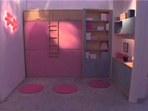 Il letto magico di man camere per ragazzi youtube - Camere da letto per bambine ...