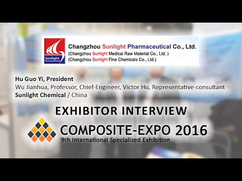 Hu Guo Yi, Sunlight Chemical / China - about Composite-Expo 2016