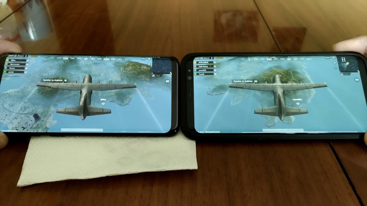 Pubg Wallpaper Samsung S8: Pubg Samsung Galaxy S9 Plus Vs S8 Plus Grafik Unterschiede