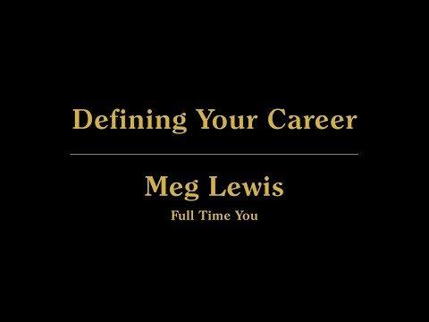 Live from 99U: Defining Your Career with Meg Lewis