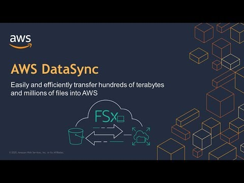 AWS DataSync Demo - Easily Transfer Data to and From AWS Up to 10x Faster