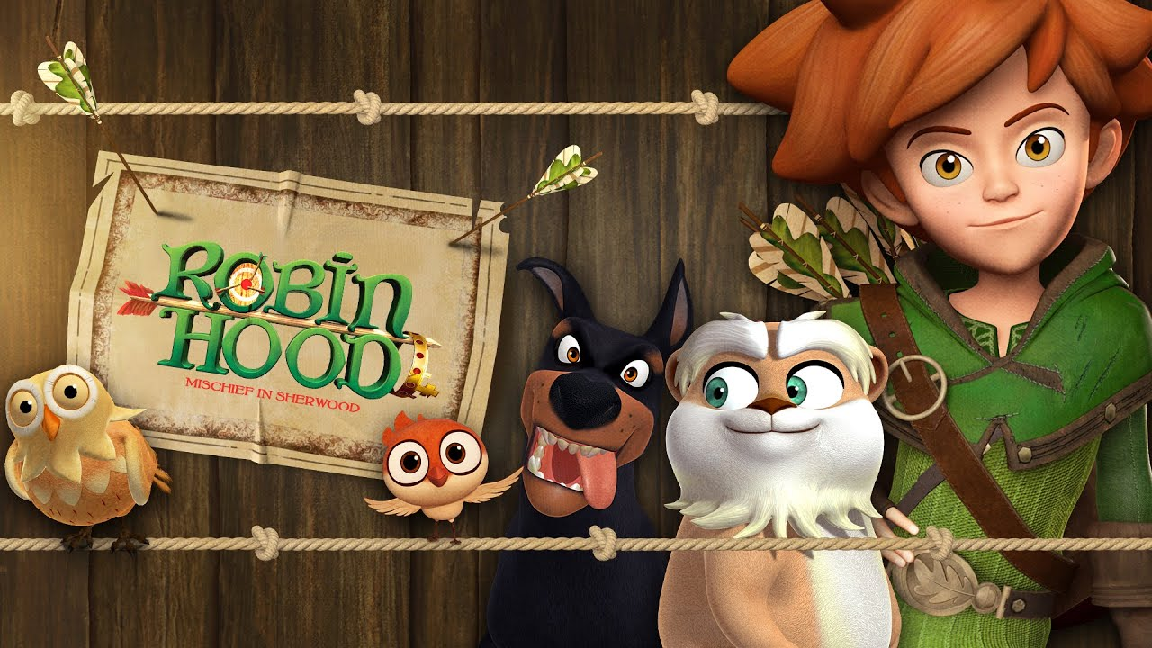 ROBIN HOOD 🏹 Best moments with animals 👑 Season 2