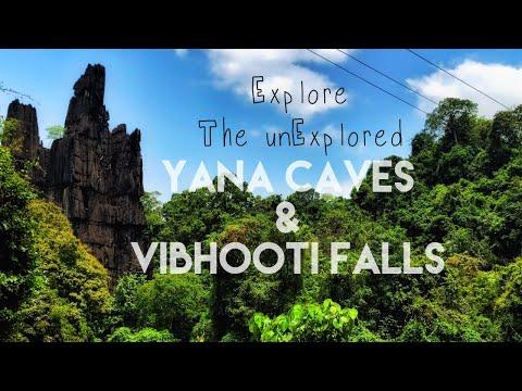 Ankola    Yana Caves and Vibhooti Falls   Kumta   Gokarna   Karnataka   India   GoPro