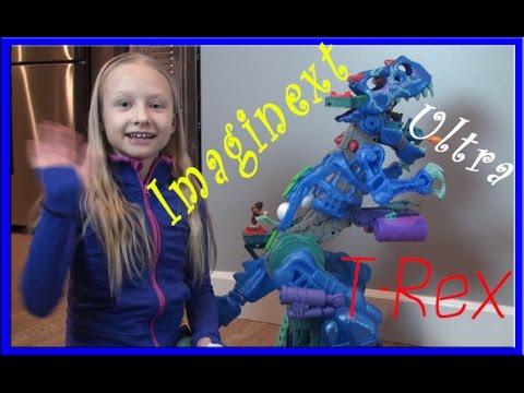 imaginext ultra t rex instructions