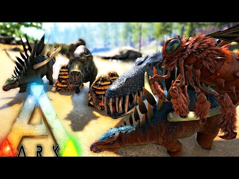 ARK Survival Evolved - PHOENIX NAPALM ATTACK, HOW TO TAME
