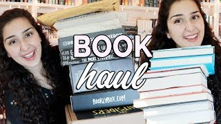 HUGE BOOK HAUL AND UNBOXING!