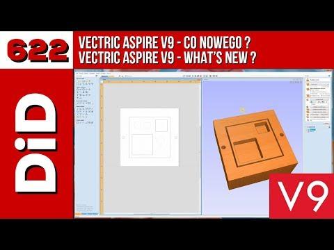 622. Vectric Aspire V9 - co nowego?